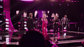 Kelly Clarkson, Ariana Grande and 'Voice' coaches absolutely rock opening number