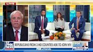 West Virginia Gov. Jim Justice on Republican counties wanting to secede from Maryland: 'I say let 'em go!'