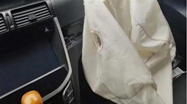 安全氣囊突炸開!他收6萬維修費聽原因氣炸:報廢它