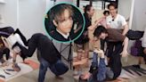 【調教你MIRROR】玩瑜伽瘋狂踩冧檔 姜濤遭隊友嫌棄好重
