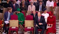 Why Meghan Markle sat behind Kate Middleton at Commonwealth Day service