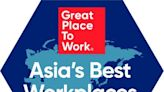 Great Place to Work(R)卓越職場(R)公佈2021年亞洲最佳職場(TM)