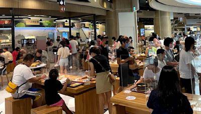 開放內用 餐飲營業額減幅收斂 - 工商時報