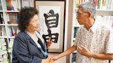 訪銅鑼灣書店 陳菊:人權是普世價值香港不會孤單