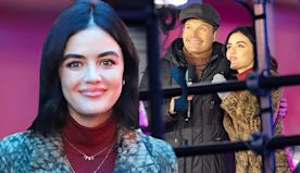 Lucy Hale rehearses for hosting gig alongside Ryan Seacrest in NYC
