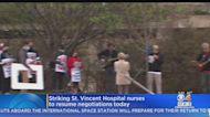 St. Vincent Hospital Nurses Return To Negotiating Table Saturday