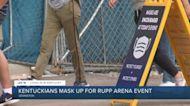 Kentuckians mask up for Rupp Arena event