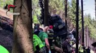 Italy investigates cause of cable car crash