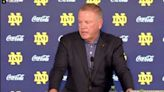 Watch: Brian Kelly on What's Next At Quarterback