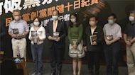 民進黨創黨35週年 林佳龍出席新書發表會