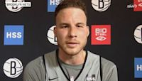 Blake Griffin explains why he joined the Nets, dismisses having a knee injury