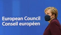 梅克爾最後一次出席歐盟高峰會 歐洲領袖起立致敬