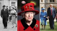From Eisenhower to Trump: A look back at Queen Elizabeth II meeting with U.S. presidents
