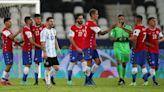 美洲盃|美斯入靚罰球都冇用 阿根廷首戰被智利1:1逼和 | 蘋果日報