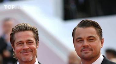 Brad Pitt and Leo DiCaprio were starstruck by Luke Perry on 'Once Upon a Time in Hollywood' set