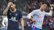 Messi, Ronaldo have opposite starts with new clubs