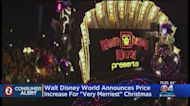 Disney Nearly Doubles Price Of 'Very Merriest' Christmas Party Tickets