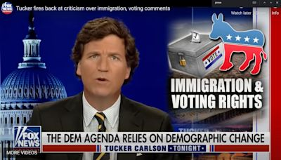 Tucker Carlson Is Giving 'Red Pills' To Millions. White Nationalists Are Thrilled.