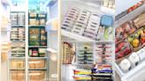 超整齊冰箱收納法!運用透明收納盒、標籤分類、直立式擺放...,打開冰箱就像在逛超市