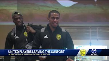 New Mexico United players heading to Sacramento