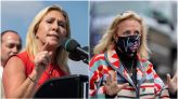 Reps. Greene, Dingell get into shouting match on Capitol steps over abortion bill