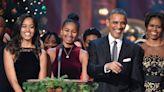 Barack Obama Shares a New, Rare Family Photo Featuring Malia & Sasha