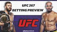 Betting: UFC 267 Odds