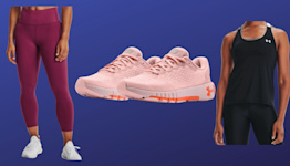Under Armour's Outlet sale just launched — save up to 55 percent on leggings, sneakers, jackets and more!