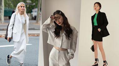 西裝外套才是顯瘦單品!哪種版型不挑身材、修飾身形?今年春夏流行什麼花色款式?這樣穿就能凹出顯瘦造型!