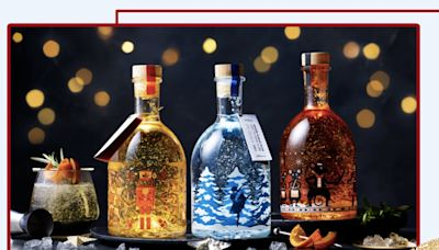 M&S's sell-out Christmas snow globe gins are back with two new flavours