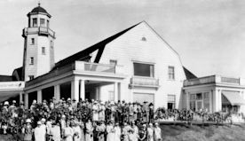 Seattle Yacht Club's 1926 Montlake reception had a crowning touch