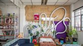 This Art-Filled Mexico City Apartment Used to Be a Gym
