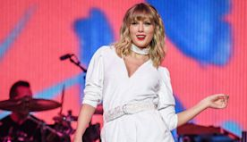 WATCH: Taylor Swift Performs New Holiday Single 'Christmas Tree Farm' Live for the First Time