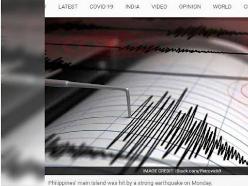 菲律賓外海發生規模5.7地震 馬尼拉建築劇烈搖晃震醒居民