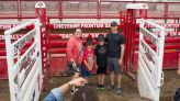 Behind the Chutes Tour lets people see stock up close