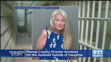 Plumas County Woman Arrested For The Assisted Suicide Of Her Daughter