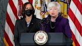 Harris, Yellen make a personal case for fixing child care