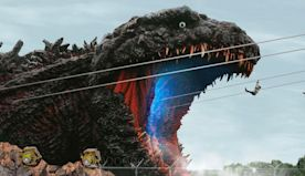 Watch Fans Zipline Into Godzilla's Mouth in New Theme Park Attraction