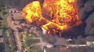 Massive fire at Rockton chemical plant caused by explosion