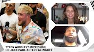 Tyron Woodley says Jake Paul looked 'scared' during stare-down