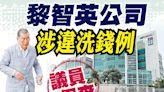黎智英疑無牌經營秘書公司 涉違打擊洗錢條例
