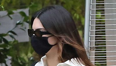 Kendall Jenner Is Surprisingly Casual in a Collared Tee, Trending Jeans & Her Favorite Wallet-Friendly Sneakers