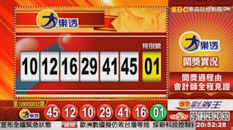 3/24 大樂透、雙贏彩、今彩539 開獎囉!