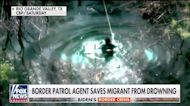 Texas Border Patrol agent saves migrant child from drowning