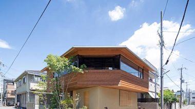 向千遍一律的住宅說不:這個住宅將功能分區反轉,猶如漂浮的木屋