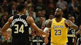 LeBron James ditches Chris Paul to root on Giannis in Game 6
