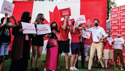 加拿大將舉行國會大選 杜魯多自由黨支持度落後 - 香港經濟日報 - 即時新聞頻道 - 國際形勢 - 環球社會熱點