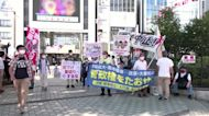 Protesters call for Olympics to be cancelled