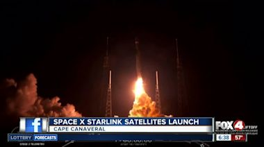 SpaceX plans Starlink satellite launch Monday morning