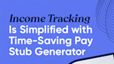 Income Tracking Is Simplified with Time-Saving Pay Stub Generator